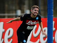 Jorginho  durante il  ritiro precampionato del SSC Napoli a Dimaro<br />  05 Luglio  2017