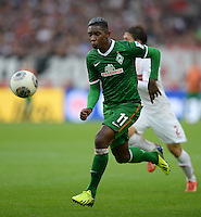Fussball  1. Bundesliga  Saison 2013/2014  8. Spieltag VfB Stuttgart - SV Werder Bremen     05.10.2013 Eljero Elia (V Werder Bremen) am Ball