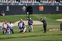 Thorbjorn Olesen (DEN) hits his tee shot on 16 during round 2 of the Arnold Palmer Invitational at Bay Hill Golf Club, Bay Hill, Florida. 3/8/2019.<br />