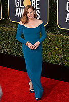 LOS ANGELES, CA. January 06, 2019: Amy Adams at the 2019 Golden Globe Awards at the Beverly Hilton Hotel.<br /> Picture: Paul Smith/Featureflash