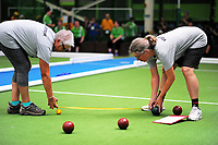 Action from the Special Olympics NZ National Summer Games 2017 bocce at Hutt Indoor Sports Arena in Wellington, New Zealand on Wednesday, 29 November 2017. Photo: Dave Lintott / lintottphoto.co.nz
