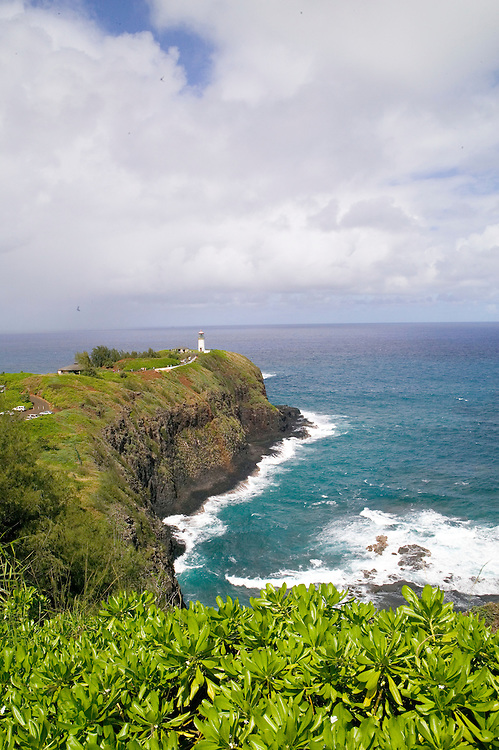 Located on the Northernmost point of the main Hawaiian Islands, the Kilauea lighthouse was built in 1913.