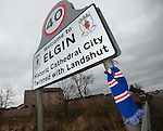 Rangers on tour: Elgin