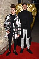 Perri Kiely and Jordan Banjo<br /> arriving for the BAFTA Childrens Awards 2017 at the Roundhouse, Camden, London<br /> <br /> <br /> ©Ash Knotek  D3353  26/11/2017