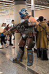 Among the numerous japanese cosplays, some turn War Hammer lilliputian figurines into life size characters.