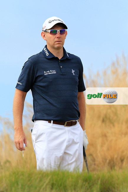Stephen GALLACHER (SCO) on the 16th tee during Thursday's Round 1 of the 2015 U.S. Open 115th National Championship held at Chambers Bay, Seattle, Washington, USA. 6/19/2015.<br /> Picture: Golffile | Eoin Clarke<br /> <br /> <br /> <br /> <br /> All photo usage must carry mandatory copyright credit (&copy; Golffile | Eoin Clarke)