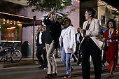 Flagstaff, Arizona.USA.August 8, 2004..Democratic presidentual nominee Sen. John Kerry and his wife Teresa on their campaign tour across America from coast to coast stop in Flagstaff for a rally. .
