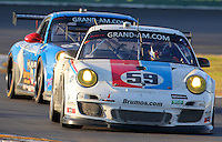 30 January 2011: The #59 Porsche of Hurley Haywood, Andrw Davis, Leh Keen and Marc Lieb, Rolex 24 at Daytona, Daytona International Speedway, Daytona Beach, FL (Photo by Brian Cleary/www.bcpix.com)