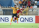 Qadsia SC vs Al Jaish during the 2015 AFC Cup 2015 Quarter Final 1st leg match on August 25, 2015 at the  Kuwait S.C. Stadium in Kuwait City, Kuwait. Photo by Adnan Hajj / World Sport Group