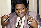 Jul 14, 1985: FATS DOMINO - Photocall in London
