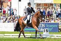 CAN-Shandiss McDonald (ROCKFIELD GRANT JUAN) INTERIM-43TH: CIC3* DRESSAGE: 2014 GBR-Equitrek Bramham International Horse Trial (Friday 6 June) CREDIT: Libby Law COPYRIGHT: LIBBY LAW PHOTOGRAPHY - NZL