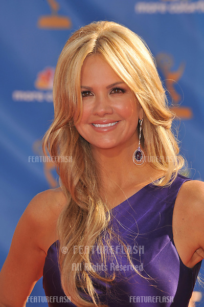 Nancy O'Dell at the 2010 Primetime Emmy Awards at the Nokia Theatre L.A. Live in downtown Los Angeles..August 29, 2010  Los Angeles, CA.Picture: Paul Smith / Featureflash