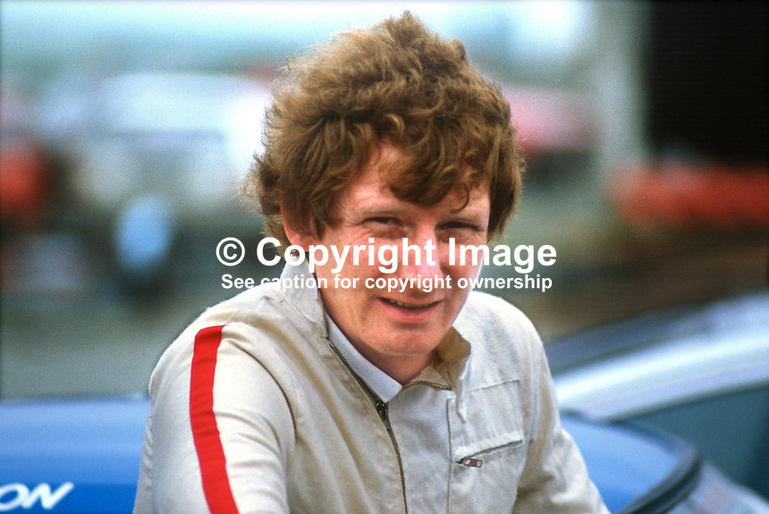 Norman Ason, Comber, N Ireland, racing driver, 19850604NA1..Copyright Image from Victor Patterson, 54 Dorchester Park, Belfast, UK, BT9 6RJ..Tel: +44 28 9066 1296.Mob: +44 7802 353836.Voicemail +44 20 8816 7153.Skype: victorpattersonbelfast.Email: victorpatterson@me.com.Email: victorpatterson@ireland.com (back-up)..IMPORTANT: If you wish to use this image or any other of my images please go to www.victorpatterson.com and click on the Terms & Conditions. Then contact me by email or phone with the reference number(s) of the image(s) concerned.