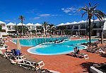 Swimming pool at H10 Ocean Suites hotel in Corralejo, Fuerteventura, Canary Islands, Spain