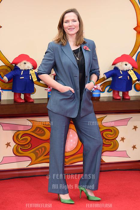 Jessica Hynes at the &quot;Paddington 2&quot; premiere at the NFT South Bank, London, UK. <br /> 05 November  2017<br /> Picture: Steve Vas/Featureflash/SilverHub 0208 004 5359 sales@silverhubmedia.com