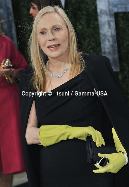 Faye Dunaway _166 at the Vanity Fair 2013 Oscar party at the Sunset Tower in Los Angeles.