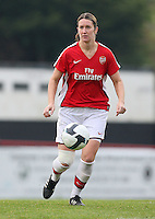Ciara Grant of Arsenal - Arsenal Ladies vs Sparta Prague - UEFA Women's Champions League at Boreham Wood FC - 11/11/09 - MANDATORY CREDIT: Gavin Ellis/TGSPHOTO - Self billing applies where appropriate - Tel: 0845 094 6026