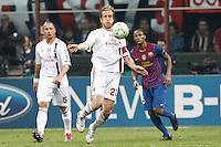 MILANO 28 MARZO 2012, MILAN - BARCELLONA,QUARTI DI FINALE UEFA CHAMPIONS LEAGUE 2011 - 2012, NELLA FOTO: AMBROSINI , FOTO DI ROBERTO TOGNONI.