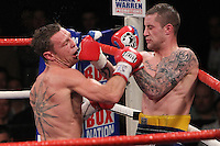 Ricky Burns fights Michael Katsidis at Wembley Arena for the WBO lightweight interim title 05-11-11 promoted by Frank Warren