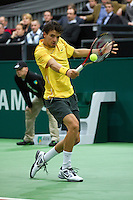 2011-02-08, Tennis, Rotterdam, ABNAMROWTT,  Grigor Dimitrov