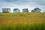 Madison, CT. East River Marsh area. Neck River Road summer cottages. Long Island sound frontage.