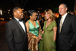 Chairs Case and Eileen Lawal with Franci and Jim Crane at the Discovery Green Gala at Discovery Green Park downtown Saturday Feb. 23,2008.(Dave Rossman/For the Chronicle)