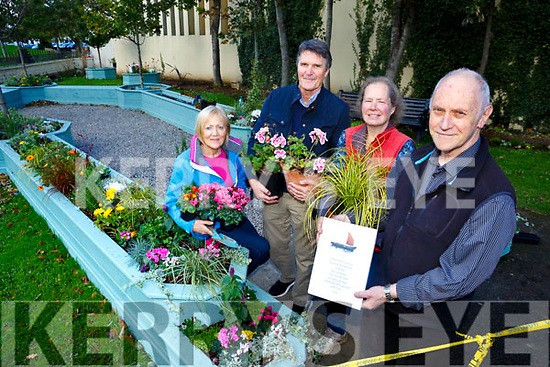 New Garden of Contemplation is being opened this weekend in Pearse Park on Saturday, Making the 200th Anniversary of the Birth of Baha'u'llah founder of the Baha'i Faith. Pictured  L-r Fran Malone, Paul Hanrahan, Lizzie Walsh and Tony McGinley