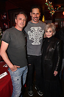 """HOLLYWOOD - FEBRUARY 20: Joe Manganiello Sharon Osbourne attend Ozzy Osbourne global tattoo and album listening party to celebrate his new album """"Ordinary Man"""" on February 20, 2020 in Hollywood, California. (Photo by Lionel Hahn/Epic Records/PictureGroup)"""