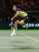 Rotterdam, The Netherlands, 18 Februari, 2018, ABNAMRO World Tennis Tournament, Ahoy, Doubles final,  Mate Pavic (CRO)<br />