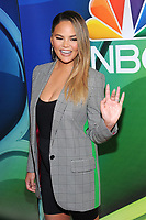 NEW YORK, NY - MAY 13: Chrissy Teigen at the NBC 2019 Upfront Presentation at the Four Seasons Hotel in New York City on May 13, 2019. <br /> CAP/MPI/JP<br /> &copy;JP/MPI/Capital Pictures