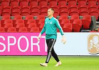 Torwart Bernd Leno (Deutschland Germany) - 12.10.2018: Abschlusstraining der Deutschen Nationalmannschaft vor dem UEFA Nations League Spiel gegen die Niederlande