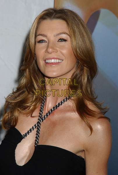 ELLEN POMPEO.2006 Writers Guild Awards held at The Hollywood Palladium, Hollywood, California, USA..February 4th, 2006.Photo: Laura Farr/AdMedia/Capital Pictures.Ref: LF/ADM.headshot portrait black halterneck.www.capitalpictures.com.sales@capitalpictures.com.© Capital Pictures.