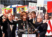 Actress Rene Russo appears at a Capitol Hill press conference advocating more funding for treating Autism in Washington, D.C. on October 12, 1999..Credit: Ron Sachs / CNP