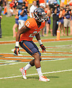 Virginia Cavaliers Brandon Phelps (21) during a game against the UCLA Bruins on August 30, 2014 at Scott Stadium in Charlottesville, VA. UCLA beat Virginia 28-20.