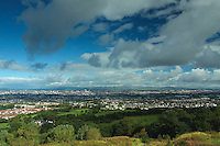 Glasgow and the Campsie Fells from Cathkin Braes, Glasgow<br /> <br /> Copyright www.scottishhorizons.co.uk/Keith Fergus 2011 All Rights Reserved