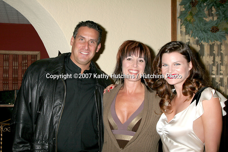 Guests.Heather Tom Annual Christmas Party.at her Home.December 8, 2007.Glendale, CA.©2007 Kathy Hutchins / Hutchins Photo...