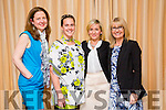 l-r  Eleanor Feeney from Eleanor's Florist,Tralee, Jennifer O'Rourke from Eleanor's Florist,Tralee,Isabella Szczupaczynska,Eleanor's Florist and Ann Dillon from Bina Ski, Ballyard,Tralee  at the Tidy Tralee Together Awards night at Fels Point Hotel on Monday