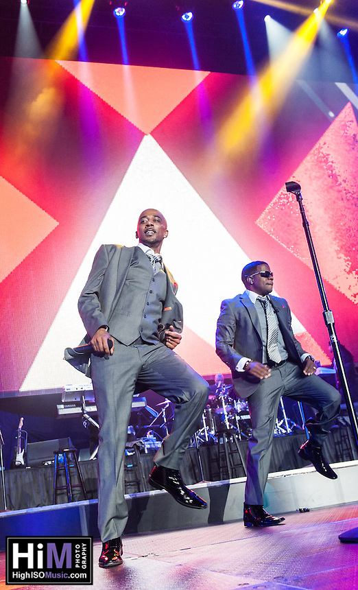 New Edition perform at the 2013 Essence  Festival in New Orleans, LA on July 6, 2013.  © HIGH ISO Music, LLC / Retna, Ltd.