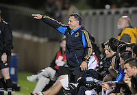 Philadelphia Union head coach Peter Nowak. The Philadelphia Union defeated D.C. United 2-1in extra time at the round of sixteen of the Lamar Hunt U.S. Open Cup at The Maryland SoccerPlex, Tuesday June 6, 2012.