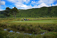 A general view of the 7th tee. 2018 Annika Australiasia Invitational Junior-Am at Royal Wellington Golf Club in Upper Hutt, Wellington, New Zealand on Friday, 14 December 2018. Photo: Dave Lintott / lintottphoto.co.nz