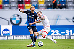 nph00351: Fussball, 1. Bundesliga, Saison 19/20, 26. Spieltag, Fortuna Düsseldorf - FC Paderborn 07, 16.05.2020: Ben Zolinski (SC Paderborn 07, l.) gegen Andre Hoffmann (Fortuna Düsseldorf).<br /> <br />  <br /> <br /> Nur für journalistische Zwecke! Only for editorial use!<br /> <br /> Gemäß den Vorgaben der DFL Deutsche Fußball Liga ist es untersagt, in dem Stadion und/oder vom Spiel angefertigte Fotoaufnahmen in Form von Sequenzbildern und/oder videoähnlichen Fotostrecken zu verwerten bzw. verwerten zu lassen. DFL regulations prohibit any use of photographs as image sequences and/or quasi-video. <br /> <br /> Foto: Moritz Müller/Pool / via Meuter/nordphoto