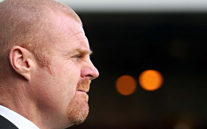 Burnley's Manager Sean Dyche <br />