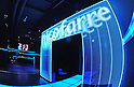 A photograph made available on December 04, 2011 shows a entrance gate turned on with LED at the nicofarre, in the Roppongi clubing district in Tokyo, July 30, 2011. ..TOKYO NICONICO COSPLLECTION is held on December 04, 2011 at the nicofarre. This event introduce Japanese Cosplay Culture through the unprecedented show which realizes a virtual world of Japanese Anime, game and Vocaloids. More than 100 famous cosplayers dressed as popular characters...Nico Nico Douga, Japanese online movie sharing service, launched nicofarre on 12 July n which LED monitors are installed on every wall and ceiling surface in order to generate virtual characters, landscapes, and user comments in a 360-degree setting. Those watching online can type in comments that are then scrolled in real time on the wall-screens of the main hall. (Photo by Tomoyuki Kaya/AFLO)..