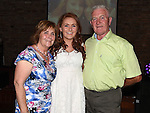 Ellen Butterly celebrating her 21st birthday in The Venue at McHugh's with parents Patrick and Breda. Photo:Colin Bell/pressphotos.ie