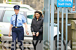 Monika Paczkowska leaving Tralee Courthouse on Wednesday.