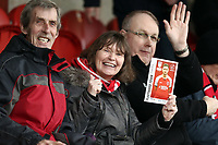 Fleetwood Town fans in high spirits ahead of kick-off<br /> <br /> Photographer Rich Linley/CameraSport<br /> <br /> The EFL Sky Bet League One - Fleetwood Town v Oxford United - Saturday 12th January 2019 - Highbury Stadium - Fleetwood<br /> <br /> World Copyright &copy; 2019 CameraSport. All rights reserved. 43 Linden Ave. Countesthorpe. Leicester. England. LE8 5PG - Tel: +44 (0) 116 277 4147 - admin@camerasport.com - www.camerasport.com