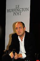 Louis Dreyfus CEO del gruppo editoriale Le Monde.Parigi 23/1/2012 .Presentazione della versione francese del sito Huffington Post.Foto Insidefoto / Anthony Ghnassia / Panoramic