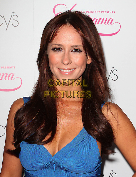 Jennifer Love Hewitt.Macy's Passport presents Glamorama 2011, Orpheum Theatre, Los Angeles, California, USA..23rd September 2011.headshot portrait blue cleavage.CAP/ADM/KB.©Kevan Brooks/AdMedia/Capital Pictures.
