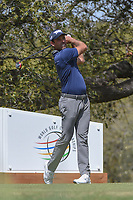 Charl Schwartzel (RSA) watches his tee shot on 10 during round 1 of the World Golf Championships, Dell Match Play, Austin Country Club, Austin, Texas. 3/21/2018.<br /> Picture: Golffile | Ken Murray<br /> <br /> <br /> All photo usage must carry mandatory copyright credit (&copy; Golffile | Ken Murray)