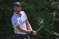 Daniel Berger (USA) watches his tee shot on 9 during 3rd round of the 100th PGA Championship at Bellerive Country Club, St. Louis, Missouri. 8/11/2018.<br /> Picture: Golffile | Ken Murray<br /> <br /> All photo usage must carry mandatory copyright credit (&copy; Golffile | Ken Murray)